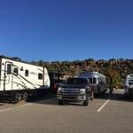 White rock visitor center rv parking