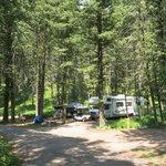 Cabin creek campground gallatin nf