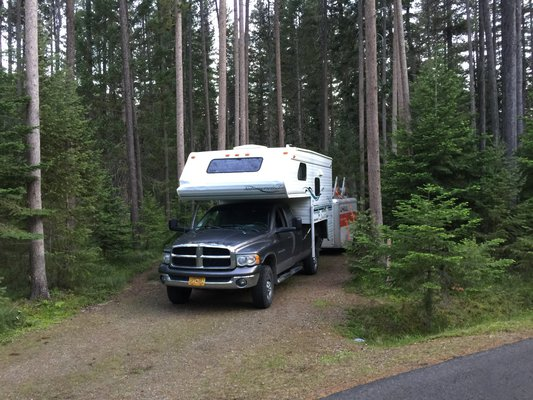 Cabin city campground