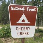 Cherry creek campground gallatin nf