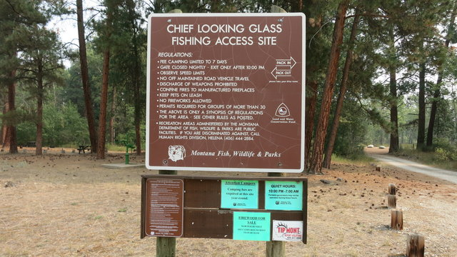 Chief looking glass campground