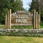 Matanuska river park campground