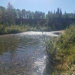 Takhanne river dispersed