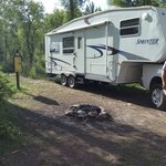 Spread creek road campsites