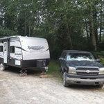 Beaver lake campsite