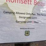 Romsett beach