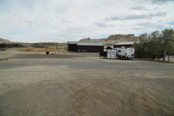 Green river dump station