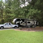 Cedar creek campground at elease