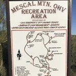 Mescal mountain ohv area