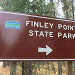 Finley point state park