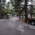 Maverick campground cimarron canyon sp