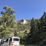 Ponderosa campground cimarron canyon sp