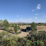 Zion scenic byway dispersed