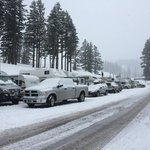 Mt hood meadows overnight rv parking