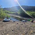 Van duzen river dispersed
