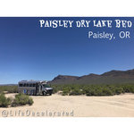 Paisley dry lake bed