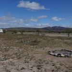 Equestrian arena camping area