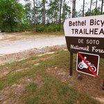 Bethel bicycle trailhead