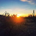Desert peak