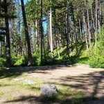 Holland lake campground flathead nf