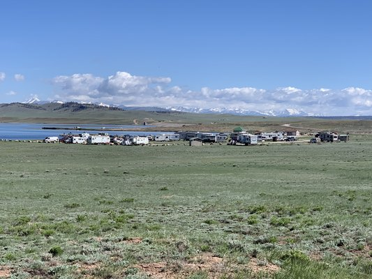 Antero reservoir campground