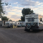 Marfa overnight trailer park