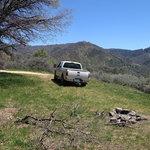 Evans road campsite 1