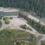 Muskeg river dispersed