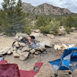 Turtle rock campground