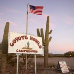 Coyote howls campground rv park east
