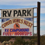 Coyote howls campground rv park west