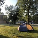 National road campground