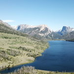 Green river lakes dispersed