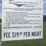 Schildberg recreation area campground