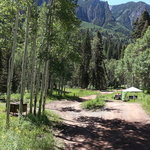 Angel creek campground uncompahgre nf