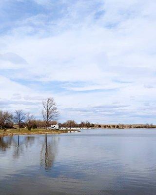 Lake ogallala primitive campsites