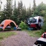 Poplar river rustic campground