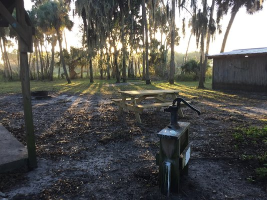 Seminole ranch conservation area camp