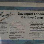 Davenport landing