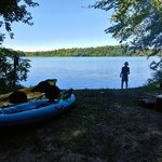 Blind lake pinckney backcountry camping