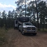 Red shale campground