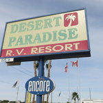 Desert paradise rv resort
