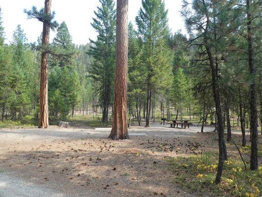Sam billings memorial campground