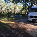Dew drop campsite tates hell state forest