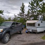 St mary campground glacier np
