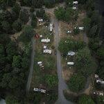 Lagoon tent trailer park