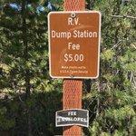Redfish lake rv dump station