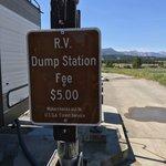 Smiley creek rv dump station