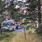 Old columbine dispersed camping