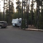 Cinder hill campground